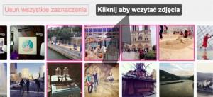 Dodawanie zdjęć z instagrama w edytroze Ouhmania.pl