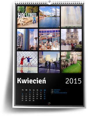 Fotokalendarz ze zdjęciami z instagrama w Ouhmania.pl