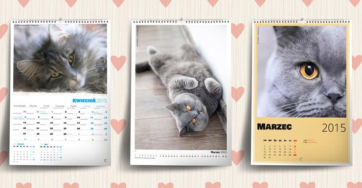 Fotokalendarze ze zdjęciami Twojego kotka na Międzynarodowy Dzień Kota