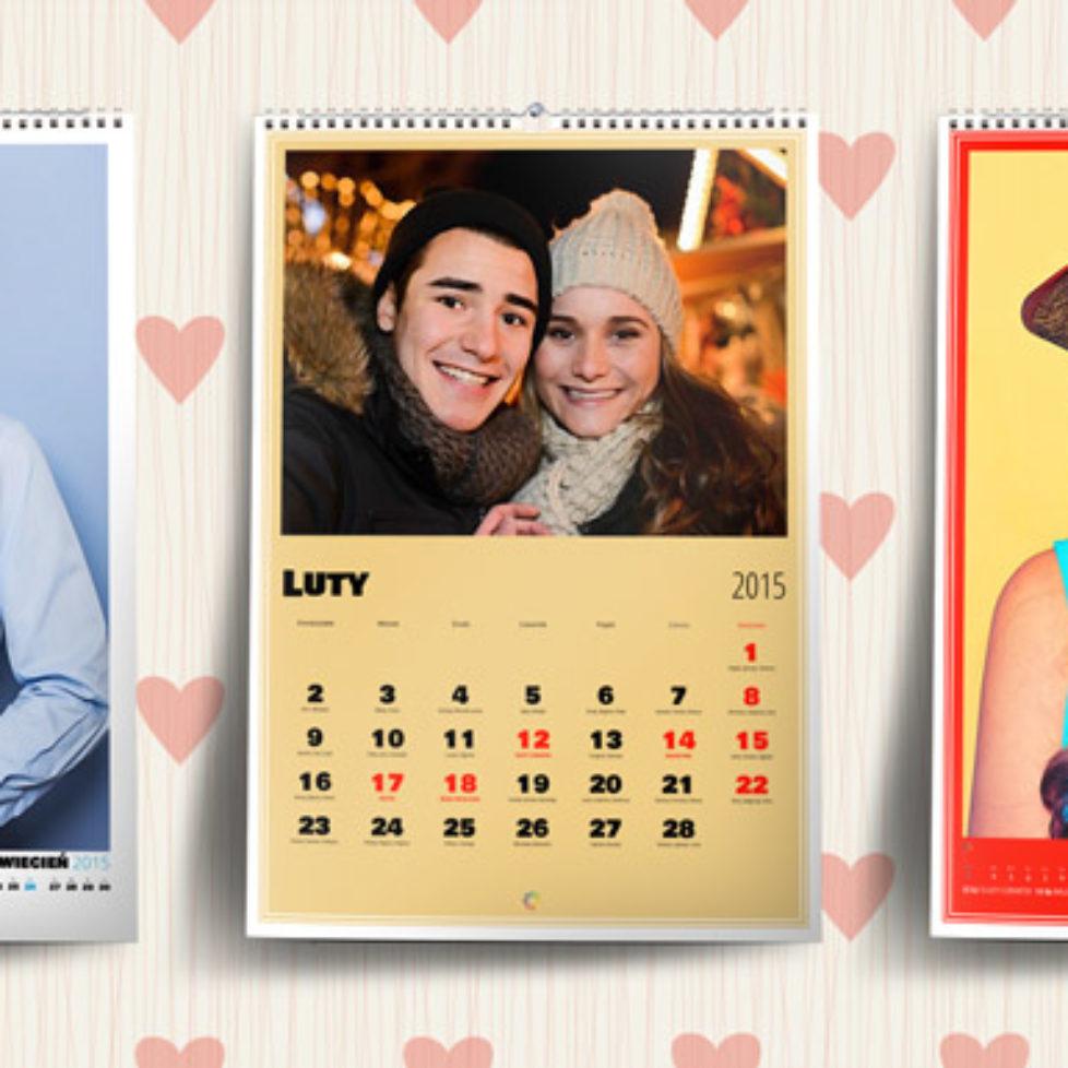 Fotokalendarze na Walentynki od Ouhmania.pl