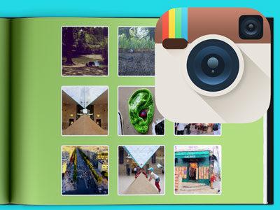 Jeśli korzystasz z serwisu Instagram możesz wczytać znajdujące się tam zdjęcia bezpośrednio do edytora i wykorzystać je w fotoksiążce.