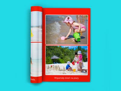 W fotoksiążce najważniejsze są zdjęcia. To przy ich pomocy opowiadamy naszą historię. W naszych fotoksiążkach A5 można umieścić do 2 zdjęć na jednej stronie. To niezbyt dużo ale jest to mała książka i przede wszystkim chcemy aby ładnie wyglądała.