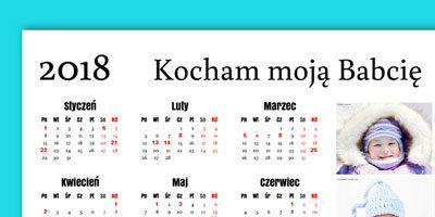 Swojemu kalendarzowi można nadać tytuł. Będzie on umieszczony na górze obok numeru roku.