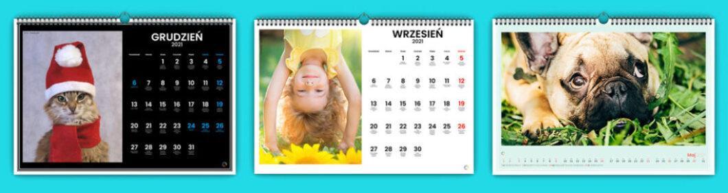 Kalendarz przypomina nam o nadchodzących wydarzeniach. Czasem jednak chcemy przede wszystkim zaprezentować nasze zdjęcia w największym możliwym rozmiarze.